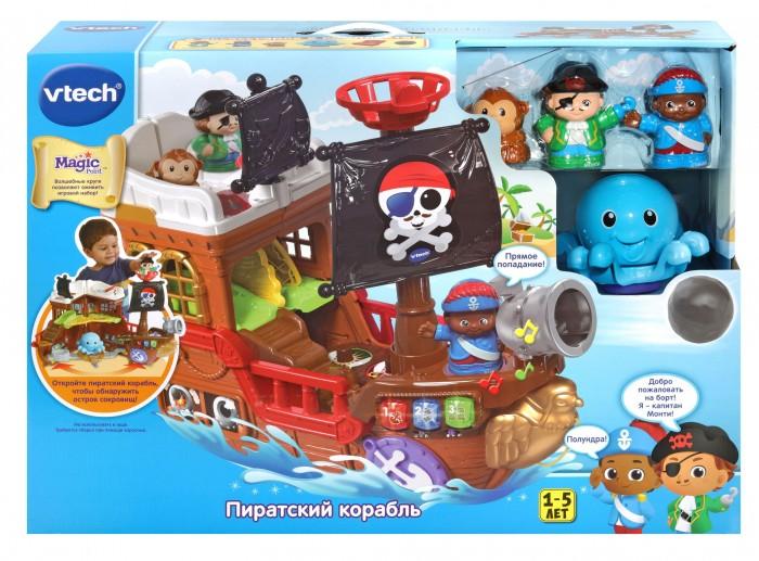 Развивающая игрушка Vtech Пиратский корабль 80-177826