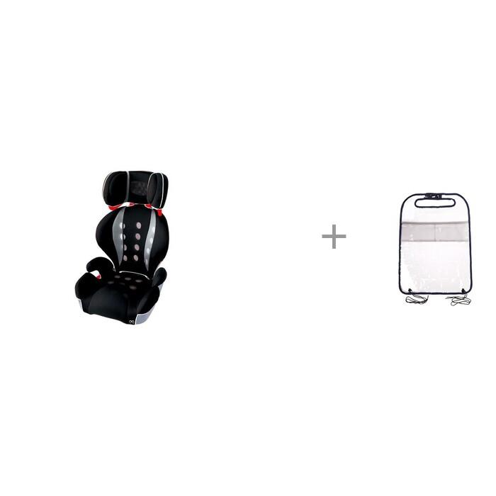 Купить Автокресло Carmate Saratto Highback Junior Quattro и ProtectionBaby Защита-органайзер для планшета в интернет магазине. Цены, фото, описания, характеристики, отзывы, обзоры