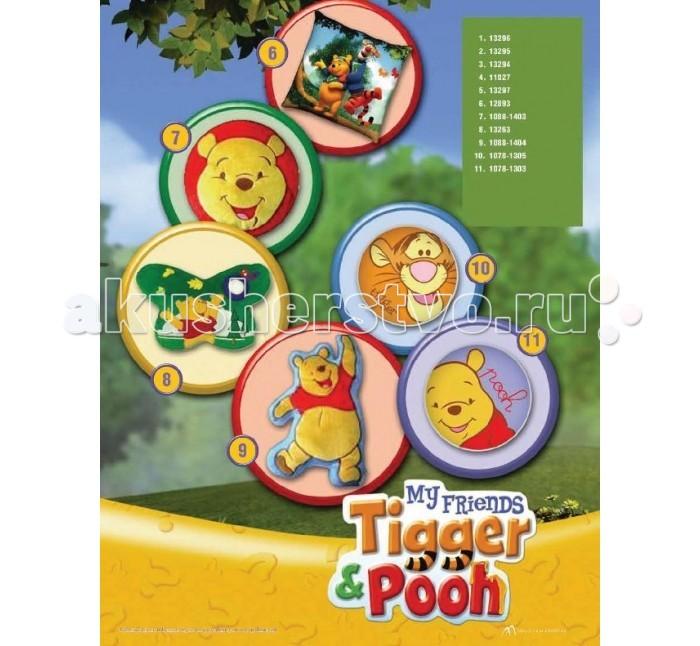 Подушки для малыша Disney Подушка мягкая круглая Винни disney мягкая игрушка винни 25 см