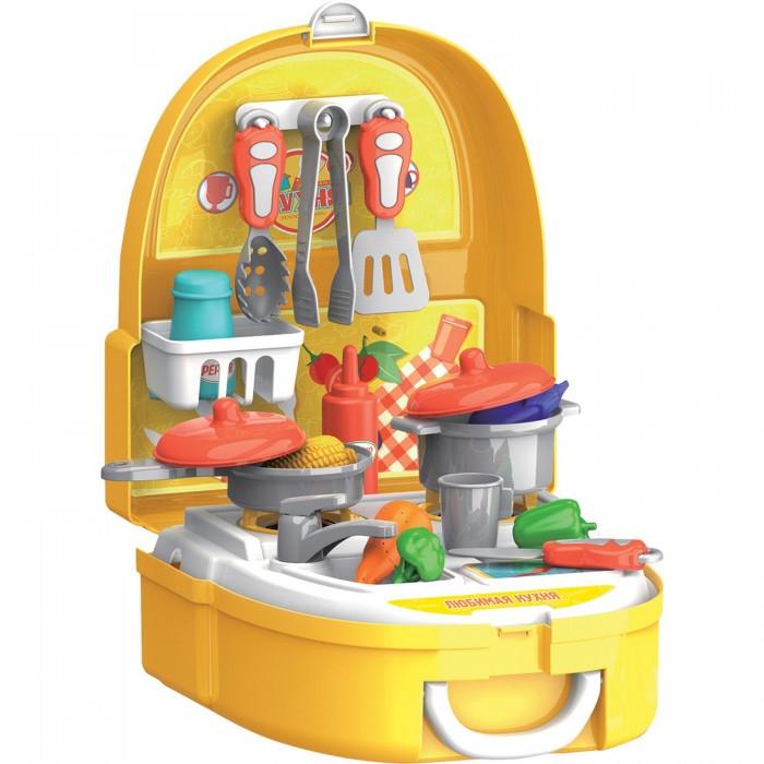 Bondibon Набор игровой в чемоданчике Кухня 25 аксессуаров