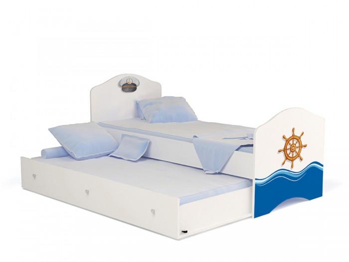 Кровати для подростков ABC-King Ocean без ящика для мальчика 160x90 см