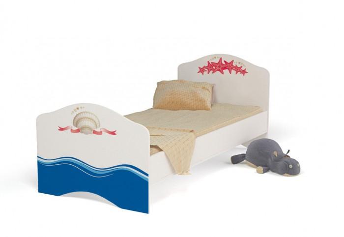 Купить Подростковая кровать ABC-King Ocean без ящика для девочки 190x90 см в интернет магазине. Цены, фото, описания, характеристики, отзывы, обзоры
