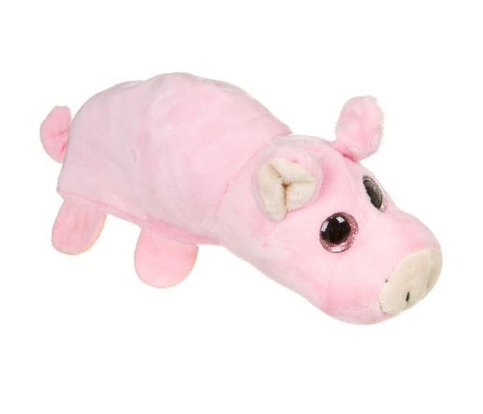 Мягкая игрушка Bondibon животные 2в1 Милота поросёнок-мышь