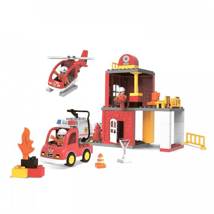 Картинка для Сборные модели Bondibon Пожарная станция 60 деталей