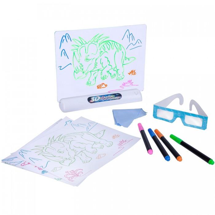 Купить Доски и мольберты, Bondibon Доска для рисования с 3D эффектом Динозавры