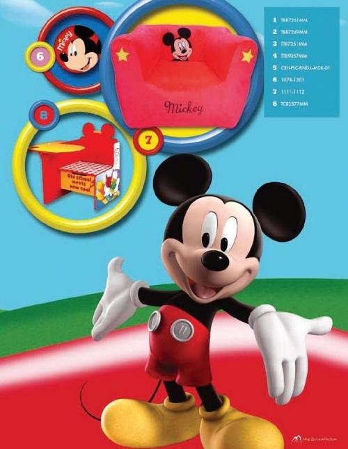 Подушки для малыша Disney Подушка мягкая круглая Микки