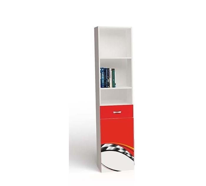 Купить Шкаф ABC-King Стеллаж узкий La-Man (левый) в интернет магазине. Цены, фото, описания, характеристики, отзывы, обзоры