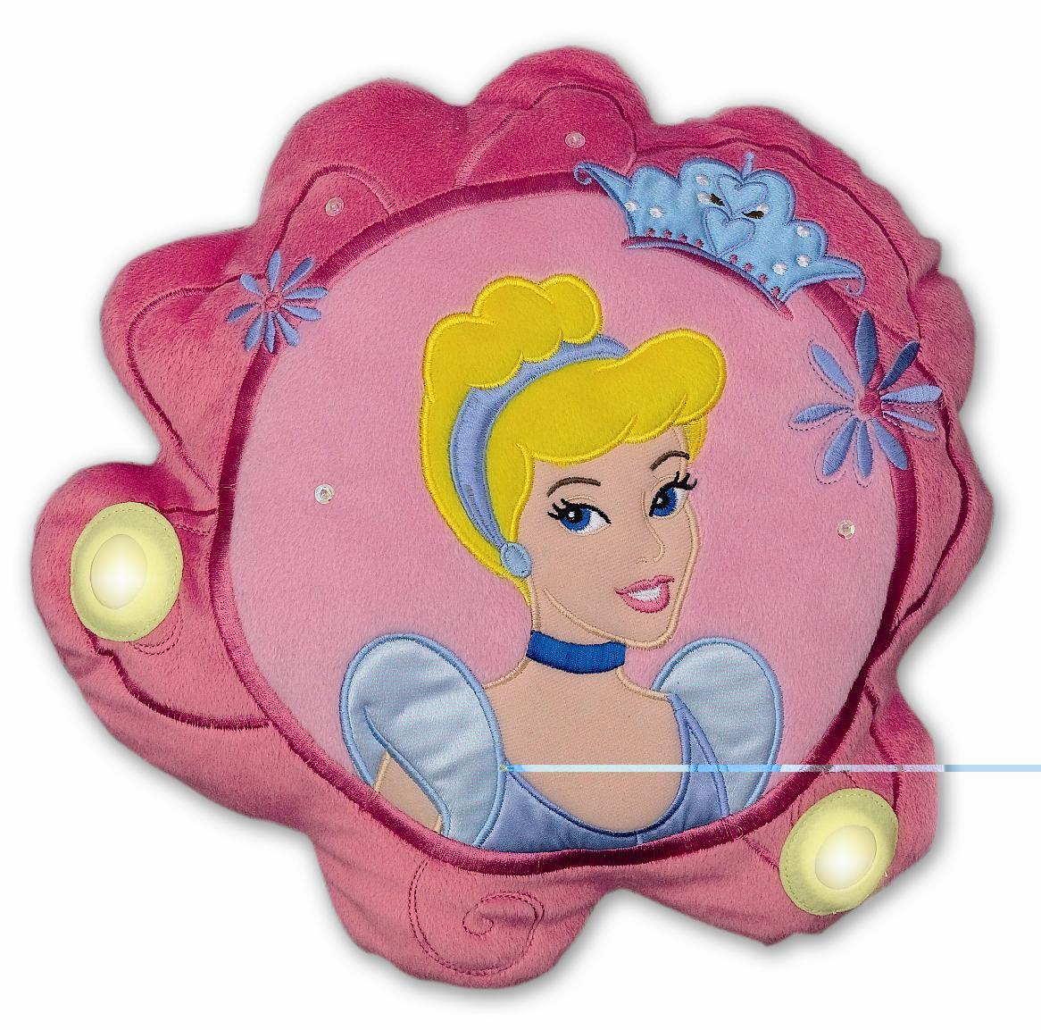Подушки для малыша Disney Подушка светильник Синдарелла