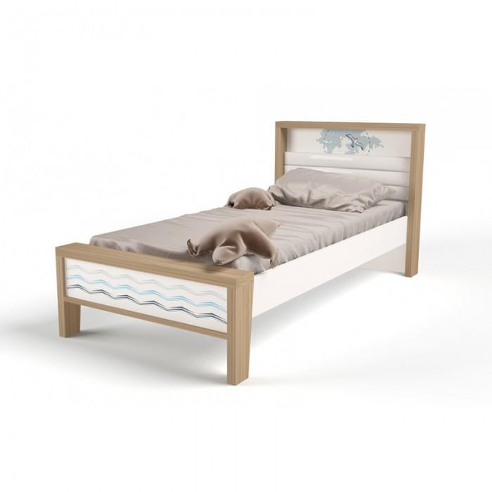 Купить Подростковая кровать ABC-King Mix Ocean №1 190x90 см в интернет магазине. Цены, фото, описания, характеристики, отзывы, обзоры