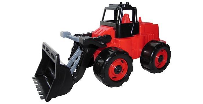 Машины Полесье Трактор Погрузчик Геракл машина детская полесье полесье набор автомобиль трейлер трактор погрузчик