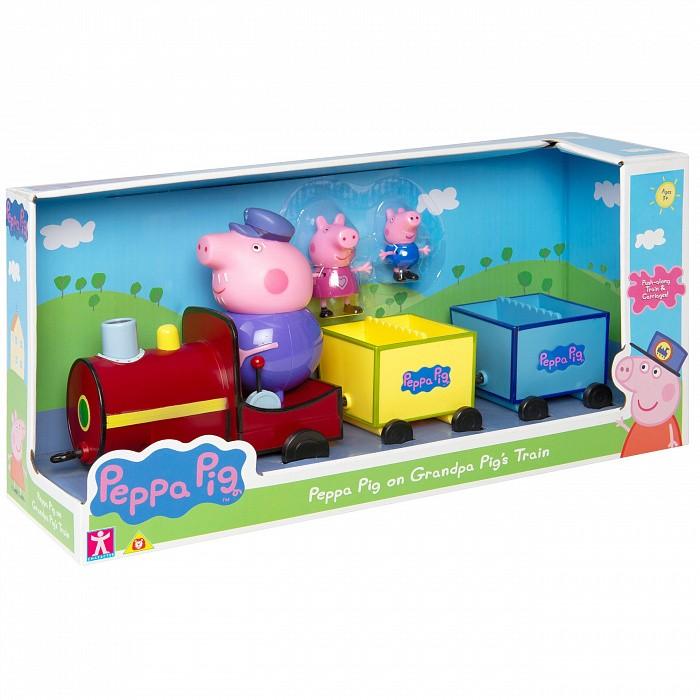 Свинка Пеппа (Peppa Pig) Игровой набор Поезд дедушки Пеппы фото