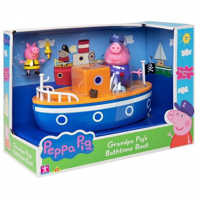 Купить Игровые наборы, Свинка Пеппа (Peppa Pig) Игровой набор для ванны Корабль дедушки Пеппы