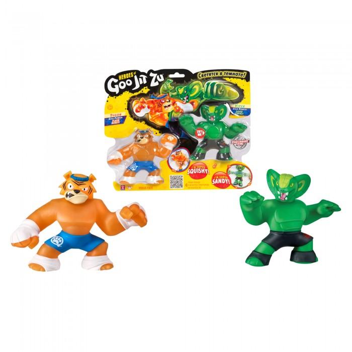 GooJitZu Игровой набор тянущихся фигурок Тайгор и Вайпер