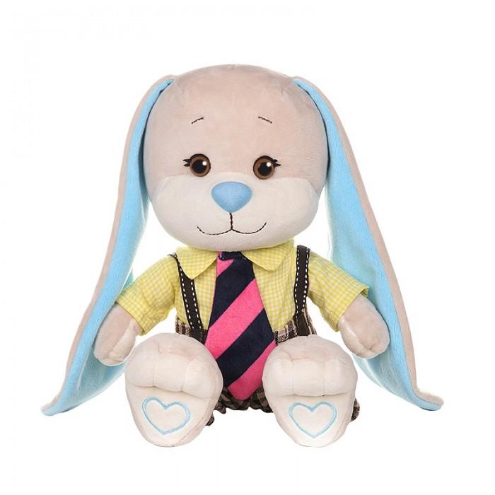Купить Мягкие игрушки, Мягкая игрушка Jack&Lin Зайчик в рубашке и полосатом галстуке 25 см