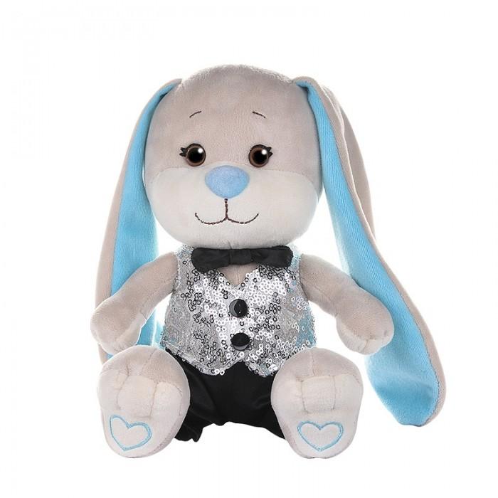 Купить Мягкие игрушки, Мягкая игрушка Jack&Lin Зайчик в жилетке и брючках 20 см см
