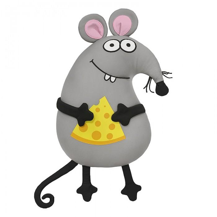 Купить Подушки для малыша, Maxitoys Antistress Подушка Мышонок с сыром 33 см