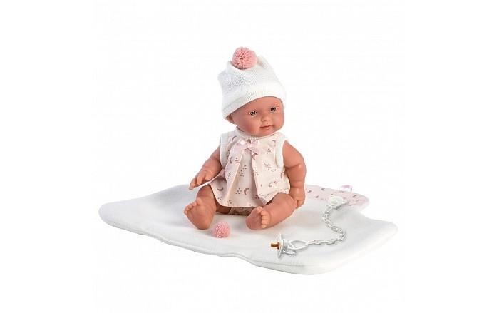 Llorens Кукла в розовом 26 см