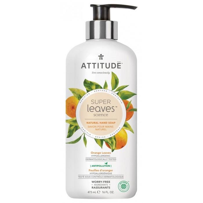 Купить Косметика для мамы, Attitude Жидкое мыло Листья апельсина 473 мл
