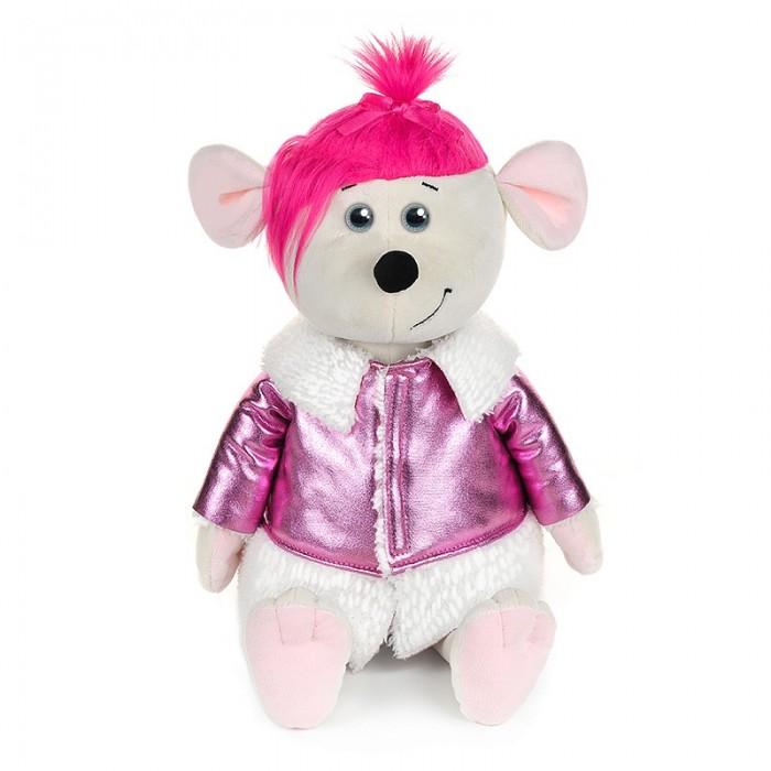 Купить Мягкие игрушки, Мягкая игрушка Maxitoys Luxury Мышка Аллочка в дубленке 28 см