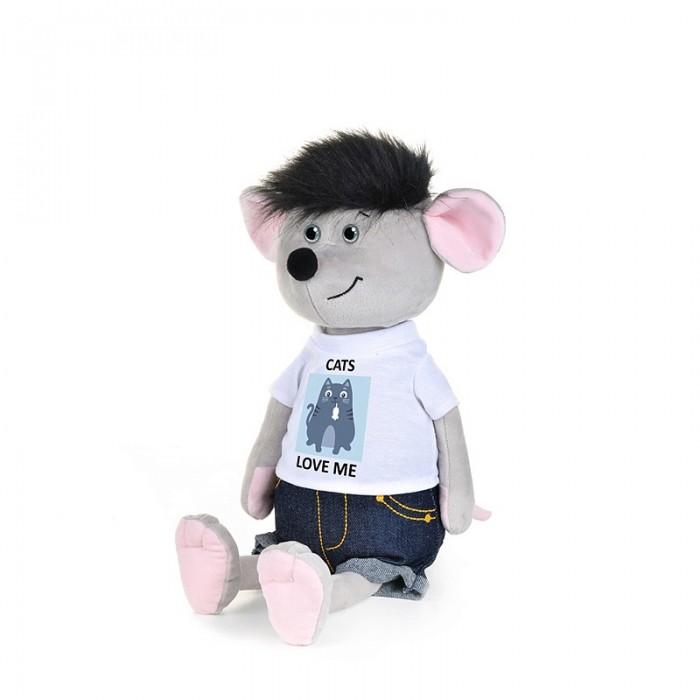 Купить Maxitoys Luxury Мышонок Славик в джинсах и футболке 21 см в интернет магазине. Цены, фото, описания, характеристики, отзывы, обзоры