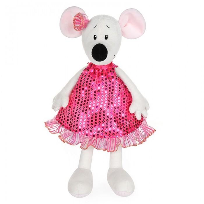 Купить Мягкие игрушки, Мягкая игрушка Maxitoys Luxury Крыса Василиса в платье 28 см