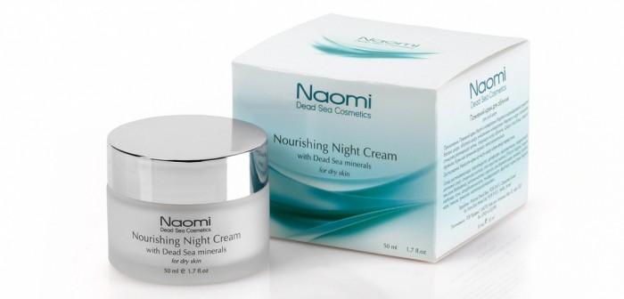 Купить Naomi Крем ночной питательный для лица с минералами Мертвого моря для сухой кожи 50 мл в интернет магазине. Цены, фото, описания, характеристики, отзывы, обзоры