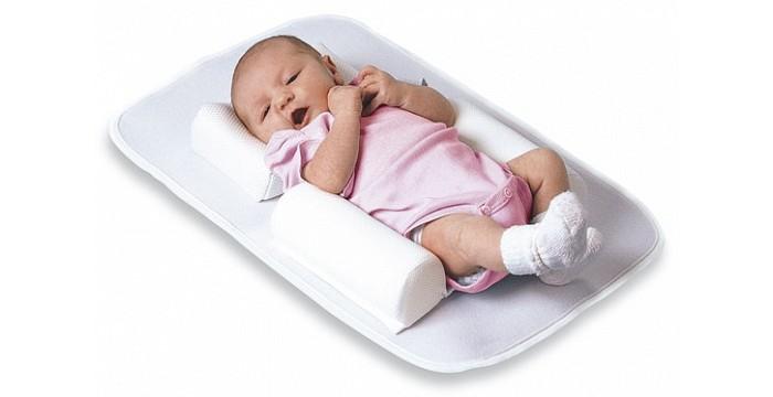 все цены на  Позиционеры для сна Plantex Матрасик с подушкой Back to Sleep  в интернете