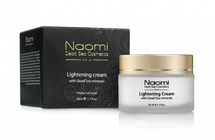 Купить Naomi Осветляющий крем с минералами Мертвого моря 50 мл в интернет магазине. Цены, фото, описания, характеристики, отзывы, обзоры
