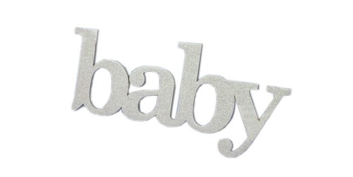 Декорирование Suvenirrus Декоративное слово Baby