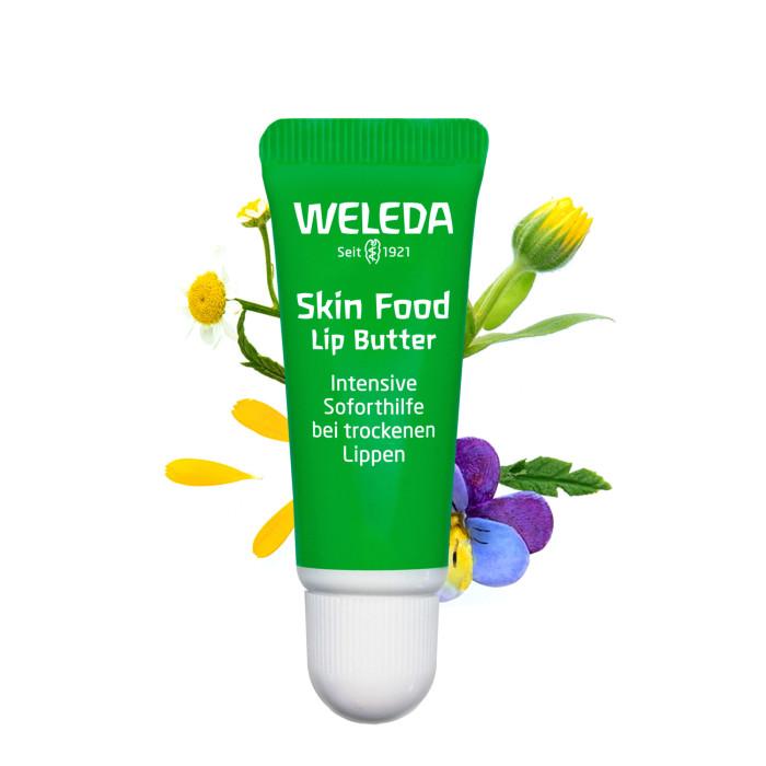 Купить Косметика для мамы, Weleda Питательный бальзам для губ Skin Food 8 мл
