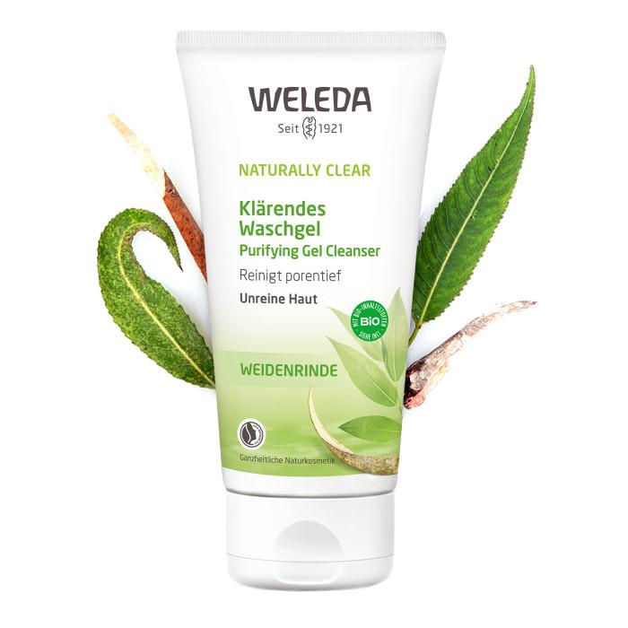 Косметика для мамы Weleda Очищающий гель для умывания 100 мл weleda очищающий гель для умывания 100 мл weleda naturally clear