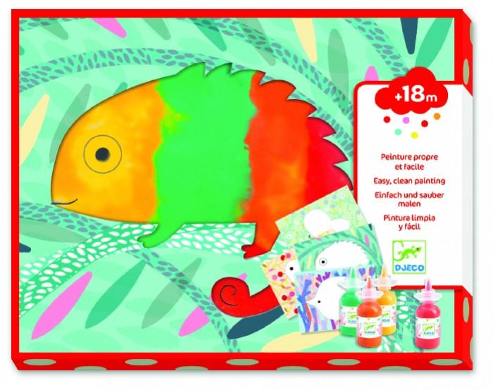 Купить Принадлежности для рисования, Djeco Набор для творчества Пальчиковые краски