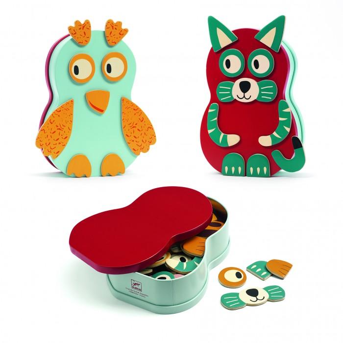 Купить Деревянные игрушки, Деревянная игрушка Djeco Настольная магнитная игра Анимо