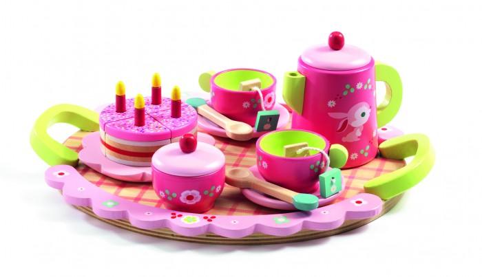 Деревянная игрушка Djeco Набор для ролевых игр Чайная вечеринка Лили
