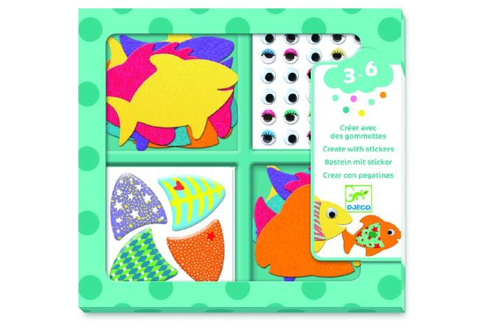 Наборы для творчества Djeco Набор для творчества Рыбки