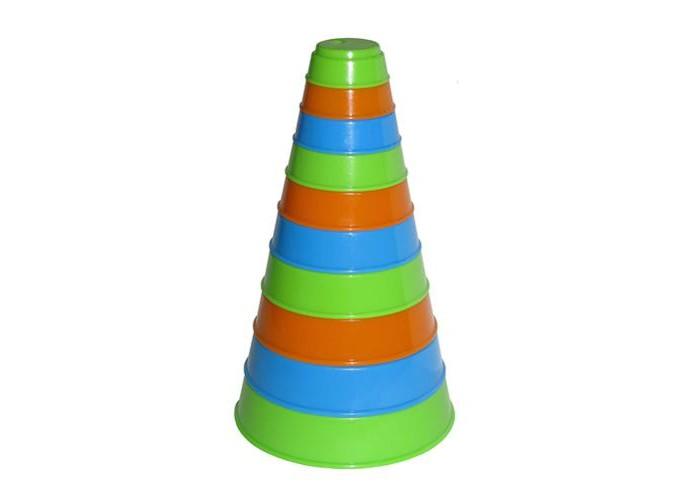 Развивающие игрушки Полесье Пирамидка Занимательная (10 элементов) полесье пирамидка полесье занимательная пирамидка 2 10 деталей