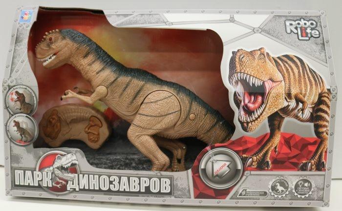 Купить Интерактивные игрушки, Интерактивная игрушка 1 Toy Robo Life Динозавр на ИК управлении
