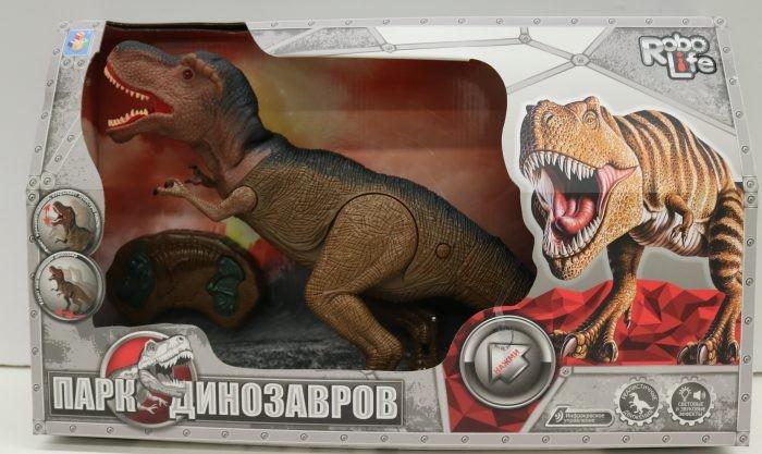 Картинка для Интерактивные игрушки 1 Toy Robo Life Динозавр Тираннозавр на ИК управлении