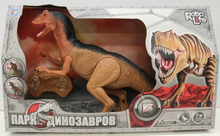 Интерактивная игрушка 1 Toy Robo Life Динозавр Гиганотозавр на ИК управлении фото