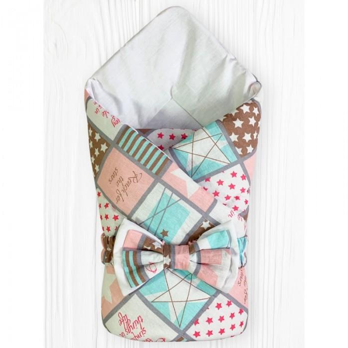 Фото - Конверты на выписку CherryMom Конверт-одеяло на выписку Звездная Мозаика (демисезон) cherrymom конверт одеяло cherrymom звезды на синем звезды на сером зима синий