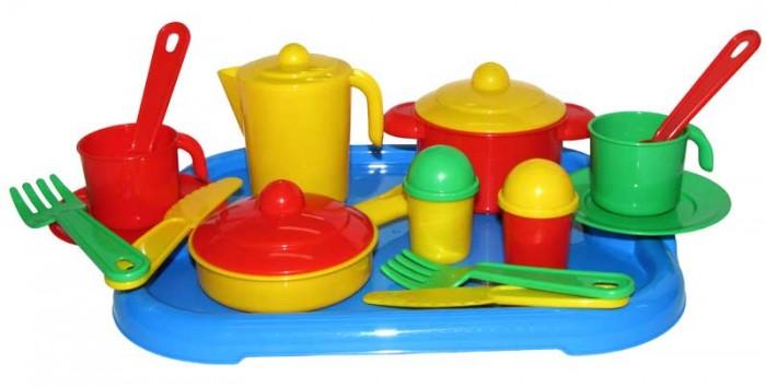 Ролевые игры Полесье Набор детской посуды Настенька rosenberg набор детской посуды 8786