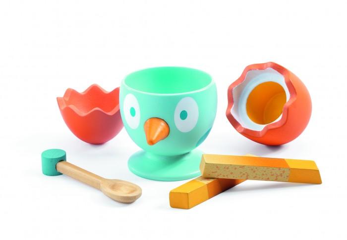 Купить Деревянные игрушки, Деревянная игрушка Djeco Сюжетно-ролевая игра Время завтрака