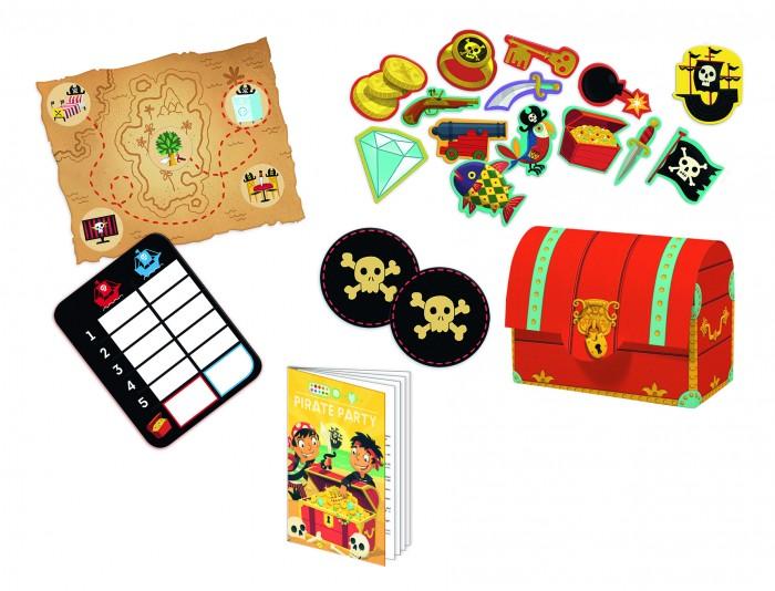 Настольные игры Djeco Игра настольная Пираты настольная игра djeco сачки и лестницы