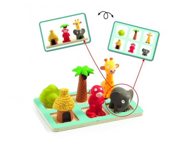 Купить Деревянные игрушки, Деревянная игрушка Djeco Развивающая игра Спасьо Эдулюдо