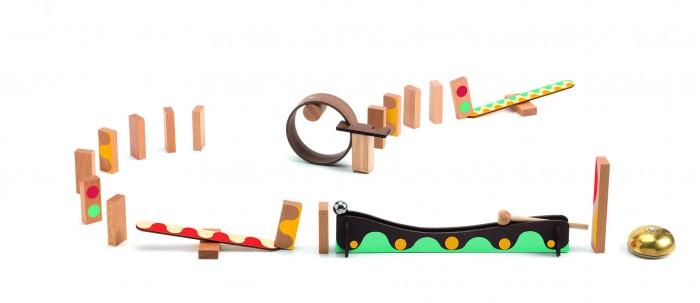 Картинка для Деревянная игрушка Djeco Конструктор - ЗигнГоу (25 деталей)