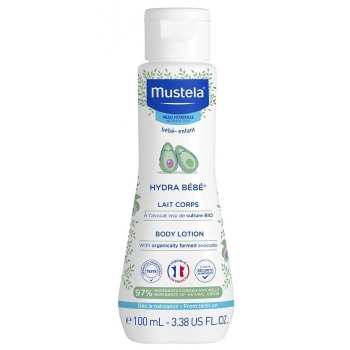 Купить Mustela Молочко для тела Hydra Bebe 100 мл в интернет магазине. Цены, фото, описания, характеристики, отзывы, обзоры