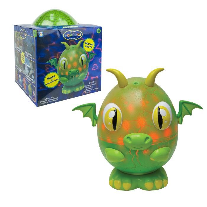 Картинка для Интерактивная игрушка 1 Toy Лампики Дракон (10 элементов) Т16359