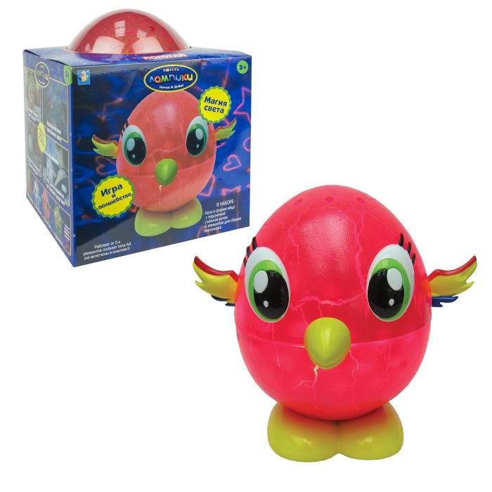 Картинка для Интерактивная игрушка 1 Toy Лампики Попугай (6 элементов) Т16360