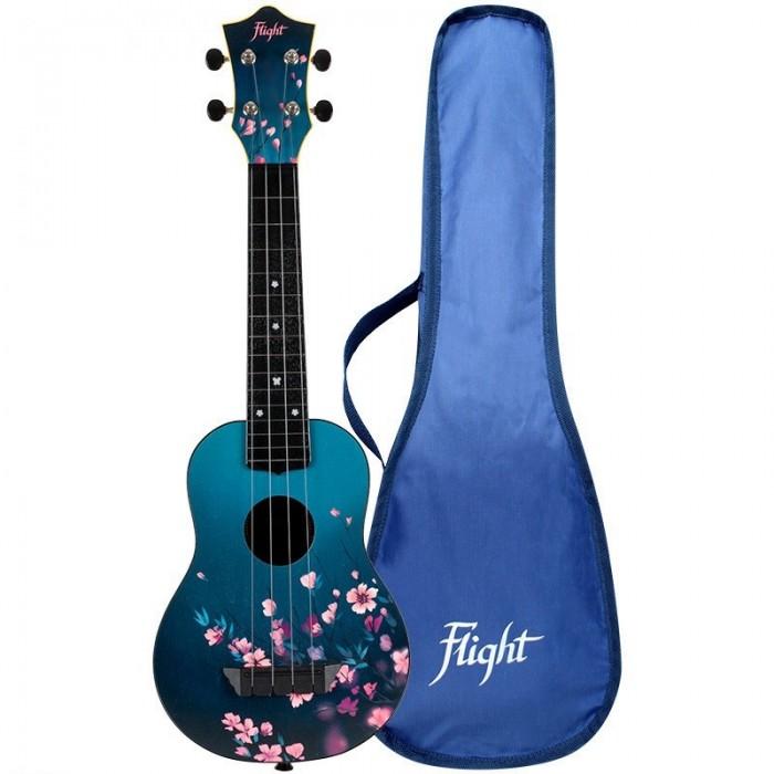 Музыкальный инструмент Flight Укулеле Travel Sakura