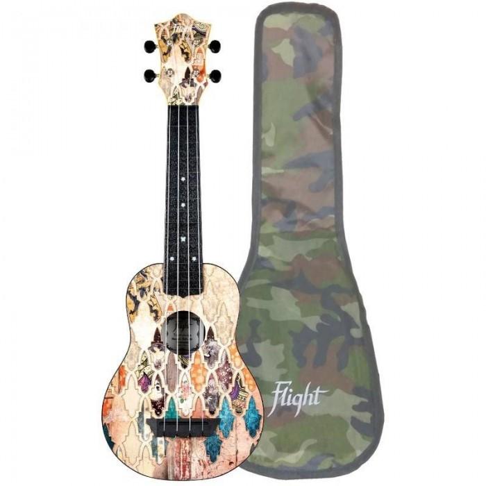 Музыкальный инструмент Flight Укулеле Travel Granada